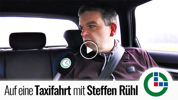 Willkommen zur Taxifahrt mit OL, Steffen Rühl!