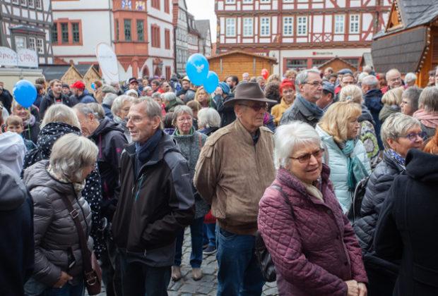 Unteilbar Demonstration Alsfeld (10 von 28)