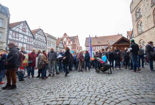 Unteilbar Demonstration Alsfeld (11 von 28)