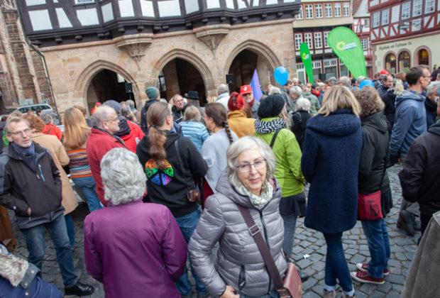 Unteilbar Demonstration Alsfeld (12 von 28)