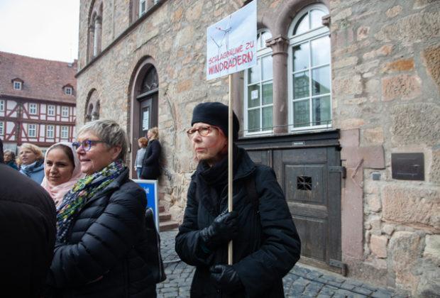 Unteilbar Demonstration Alsfeld (13 von 28)