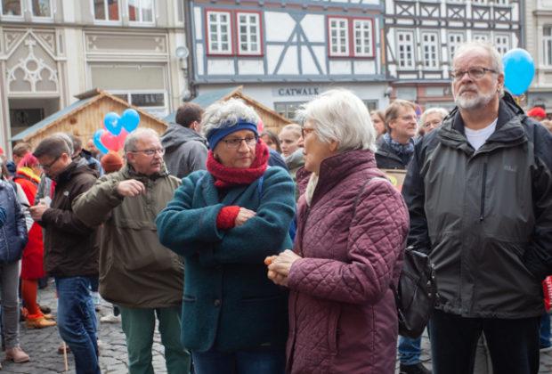 Unteilbar Demonstration Alsfeld (15 von 28)