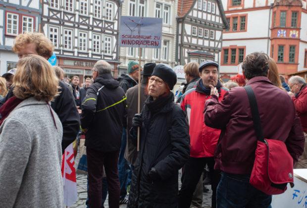 Unteilbar Demonstration Alsfeld (16 von 28)