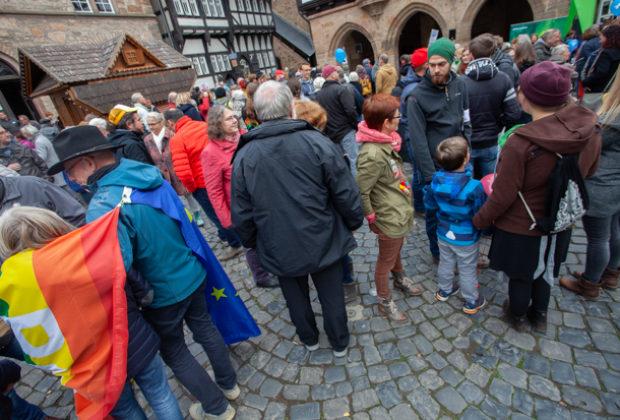 Unteilbar Demonstration Alsfeld (18 von 28)