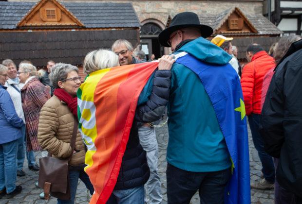 Unteilbar Demonstration Alsfeld (19 von 28)
