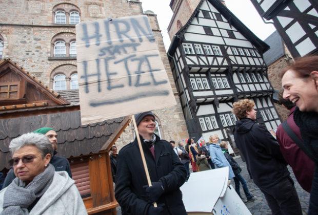 Unteilbar Demonstration Alsfeld (20 von 28)