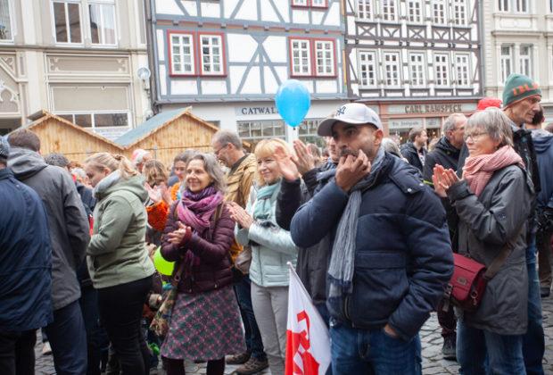 Unteilbar Demonstration Alsfeld (21 von 28)