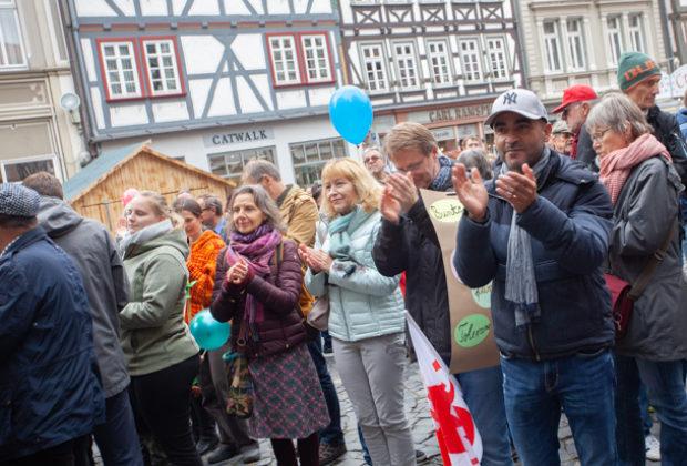 Unteilbar Demonstration Alsfeld (22 von 28)