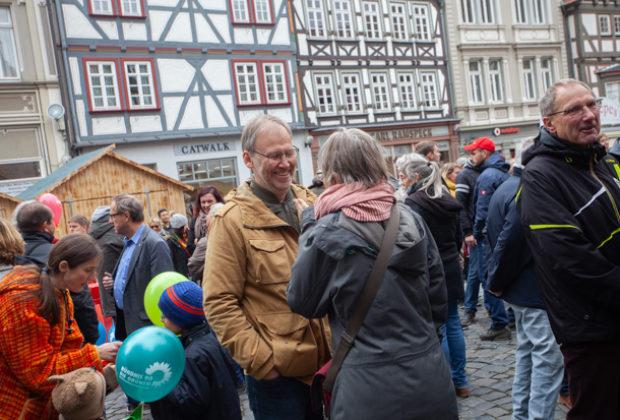 Unteilbar Demonstration Alsfeld (23 von 28)
