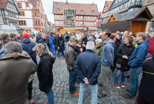 Unteilbar Demonstration Alsfeld (25 von 28)