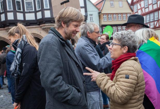 Unteilbar Demonstration Alsfeld (28 von 28)