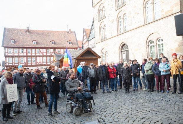 Unteilbar Demonstration Alsfeld (3 von 28)