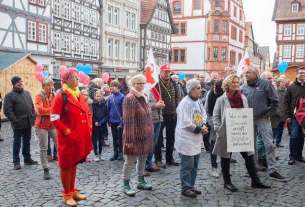 Unteilbar Demonstration Alsfeld (4 von 28)