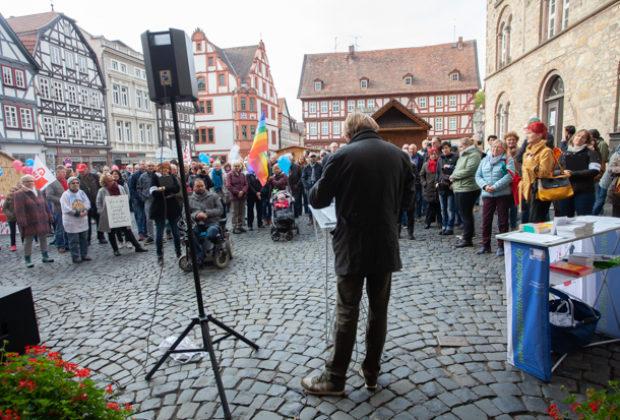 Unteilbar Demonstration Alsfeld (5 von 28)