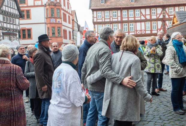 Unteilbar Demonstration Alsfeld (6 von 28)
