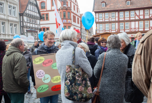 Unteilbar Demonstration Alsfeld (7 von 28)