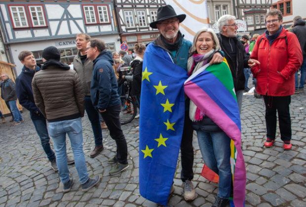 Unteilbar Demonstration Alsfeld (8 von 28)