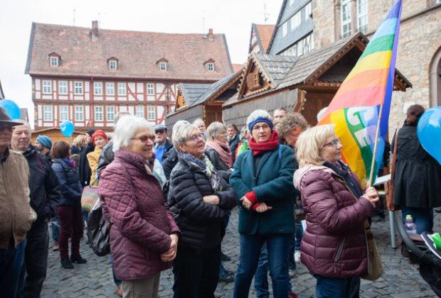 Unteilbar Demonstration Alsfeld (9 von 28)