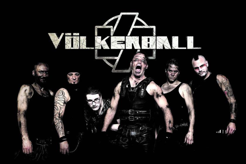 Rammstein-Coverband Völkerball kommt ins Oval