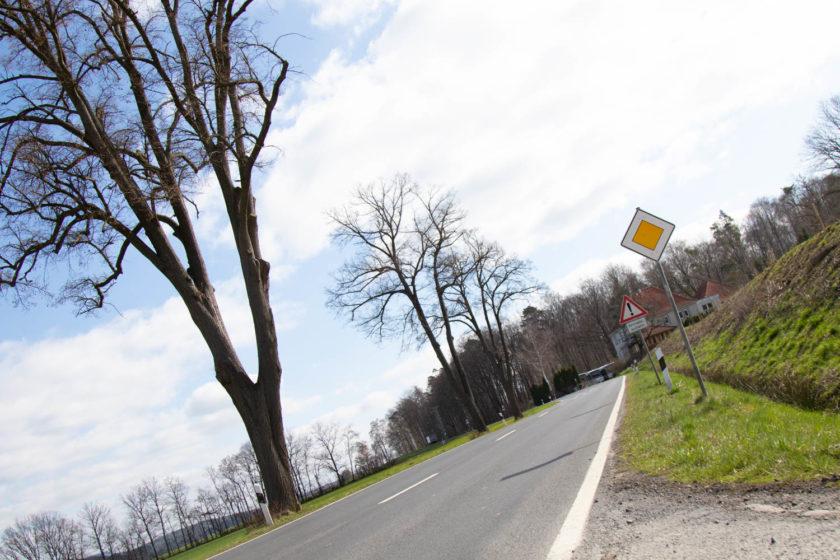 Bis Voraussichtlich Juni Ist Die B62 Zwischen Alsfeld Und Eifa