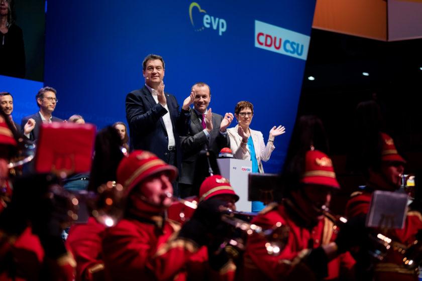 Auftakt zum Europawahlkampf der CDU &CSU