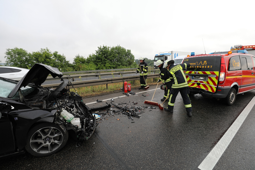 Unfall Feuerwehrauto