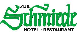 Logo Hotel Zur Schmiede