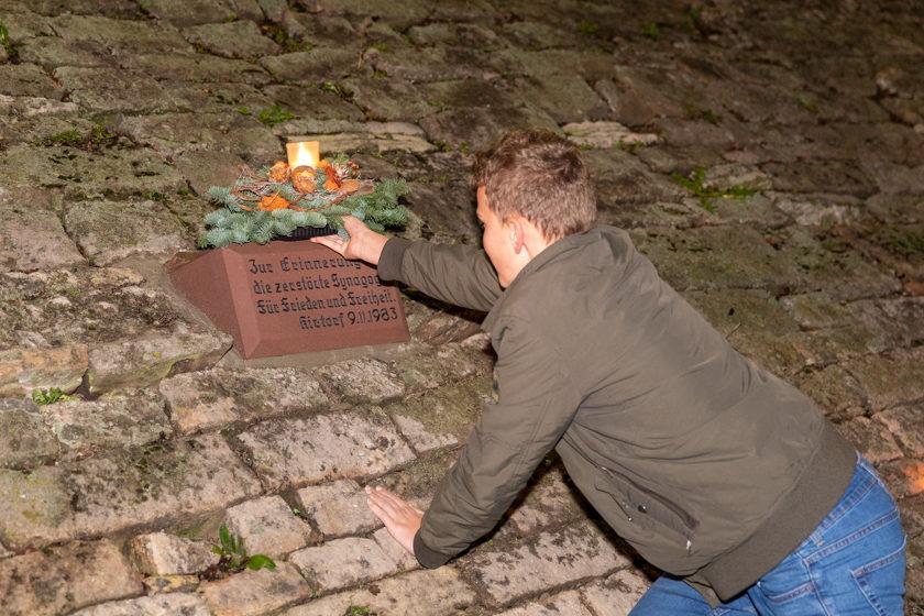 2019-11-09 Gedenkveranstaltung Reichsprogromnacht Kirtorf -65
