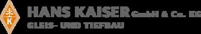 Logo Hans Kaiser GmbH & Co. KG Gleis- und Tiefbau