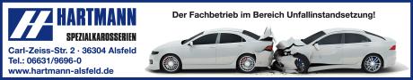 Hartmann Spezialkarosserien - Unfallinstandsetzung